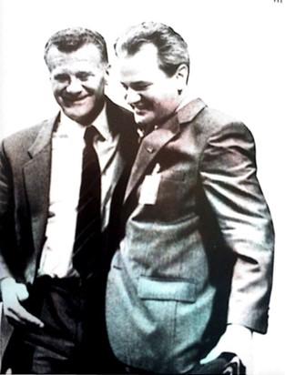 Prilog 2 - Ivan Stambolić i Slobodan Milošević 1986. godine, preuzeto iz: Radelić, Zdenko, Hrvatska u Jugoslaviji 1945.-1991. (od zajedništva do razlaza), Školska knjiga, Zagreb 2006.