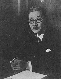 Šigenori Togo, japanski ministar vanjskih poslova