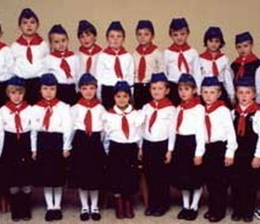 Pioniri Područne škole Sivica 1989. godine