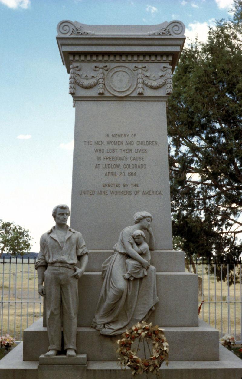 Spomenik žrtvama u Ludlowu