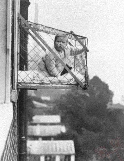 Bebama i u gradu treba omogućiti pomalo sunca i svježeg zraka (1930te)