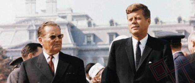 Broz i John F. Kennedy