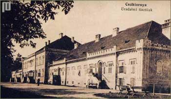 Zgrada bolnice 1917. godine