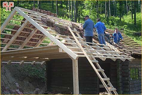 Obnova objekta Spomen bolnice Gabrinovec (ljeto 2009.)