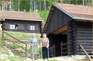 Sestre Marija Juratović i Kata Brcković iz Globočeca kod Ludbrega (sudionice NOB-e)