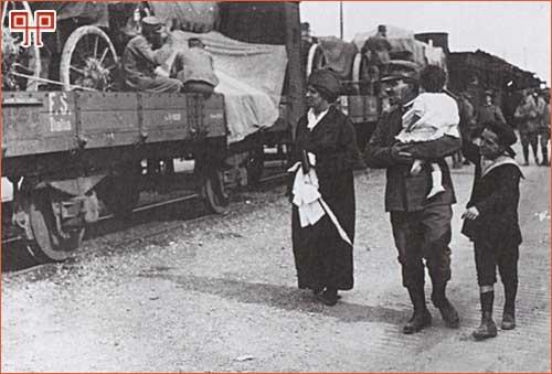 Ispraćaj talijanskog vojnika
