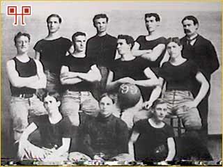 Naismithova momčad iz Kansasa 1899. godine
