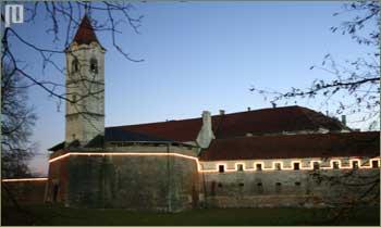 Čakovečki Stari grad u zimsko predvečerje