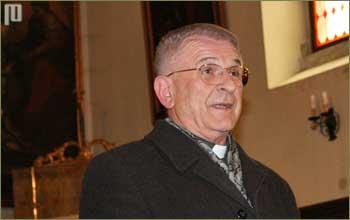 Don Mladen Milohanić, župnik u Bujama