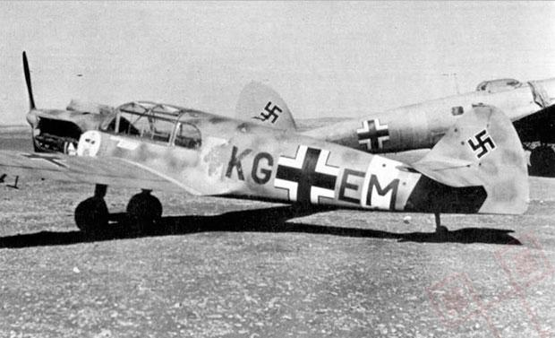 Bf 108 KG-EM koji je sudjelovao u 'Sonderkommando Blaich'