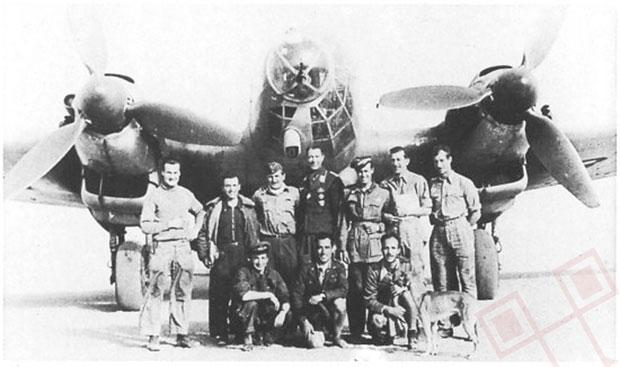 Ekipa nakon akcije - stoje s lijeva na desno: Wichmann, Dettmann, Blaich, Sanseverino, Bohnsack i Geisler