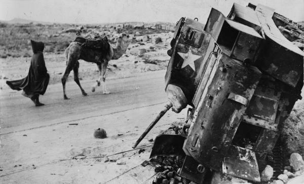 Uništeni američki oklop u Tunisu (ožujak 1943.)