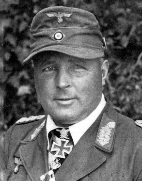 General oklopnih snaga Hans Valentin Hube, zapovjednik XIV. oklopnog korpusa.