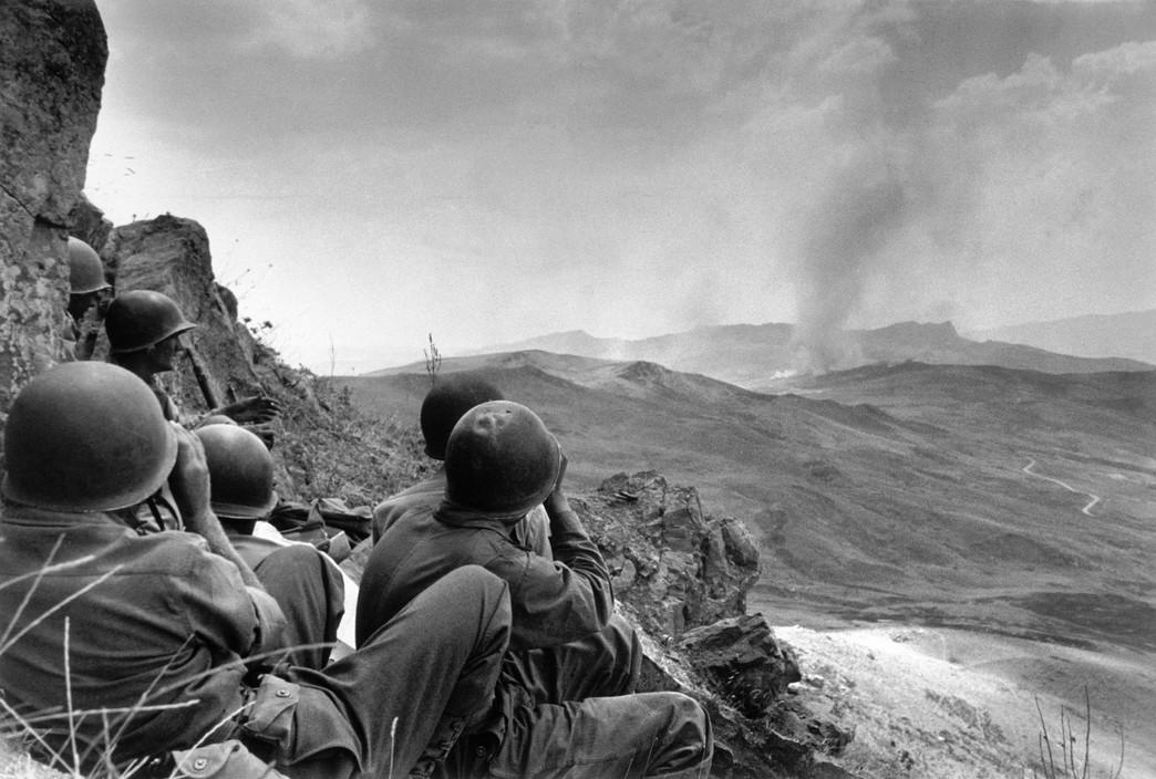 Američko pješaštvo u borbama oko Troine, 4. ili 5. VIII. 1943.