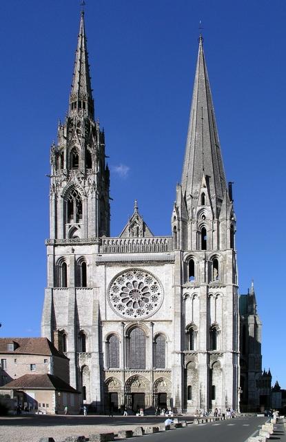 Katedrala u Chartresu.