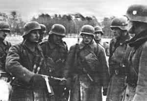 vojnici njemačke 369. pješačke divizije