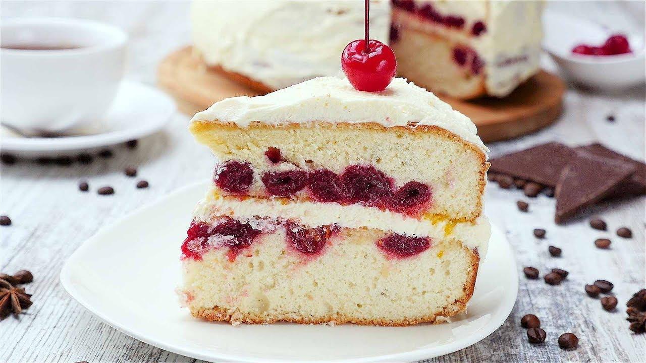 Торт «Зимняя вишня» (2892) | Povkusu.com