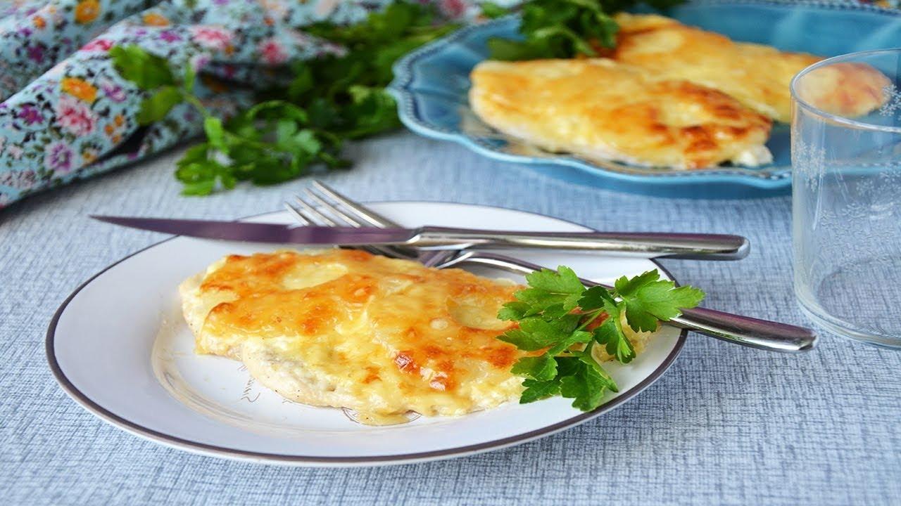 Запеченные отбивные с ананасами и сыром (3664) | Povkusu.com