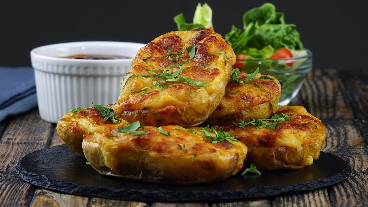 Печеный картофель с двойной сырной начинкой (3526) | Povkusu.com