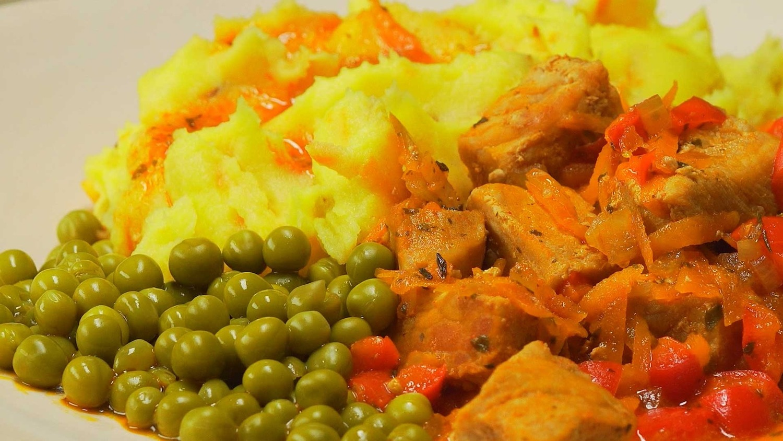 Свинина в красном соусе (3713)   Povkusu.com