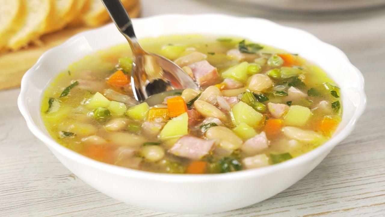 Фасолевый суп с ветчиной (5230) | Povkusu.com
