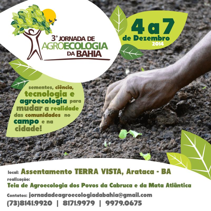 III Jornada de Agroecologia da Bahia