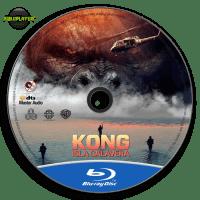 Kong Isla Calavera (2017) Label Blu-ray R4 v231