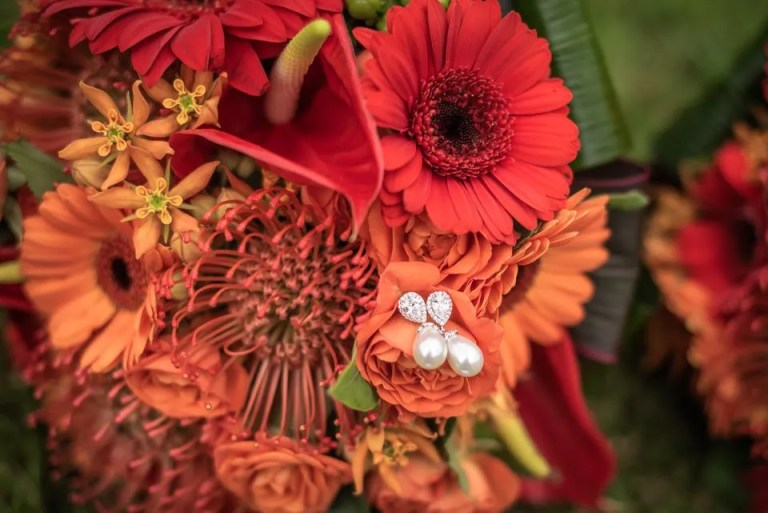 Cumberwell Park wedding earrings