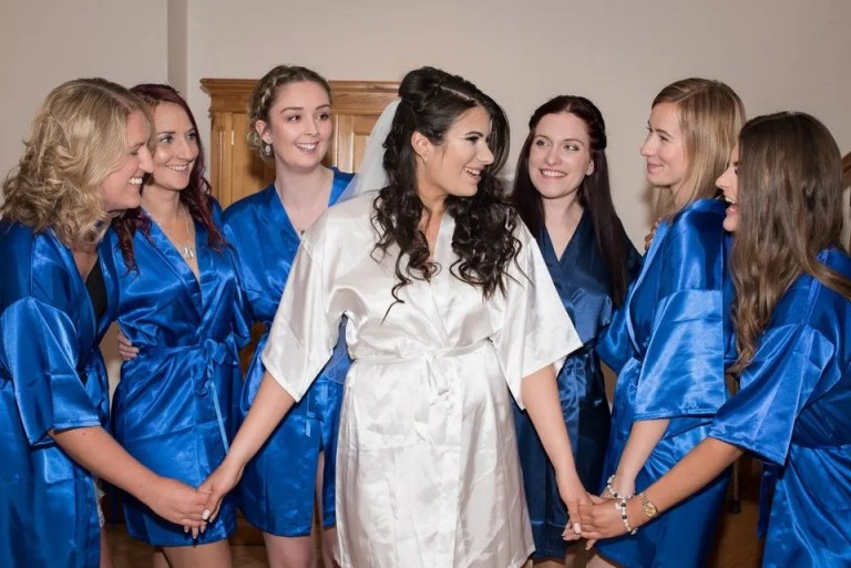 Cumberwell Park wedding bridal preparation