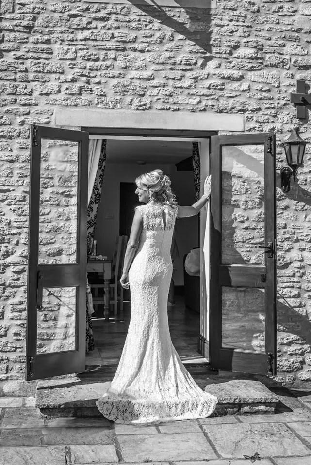 Bride getting ready at Cumberwell Park