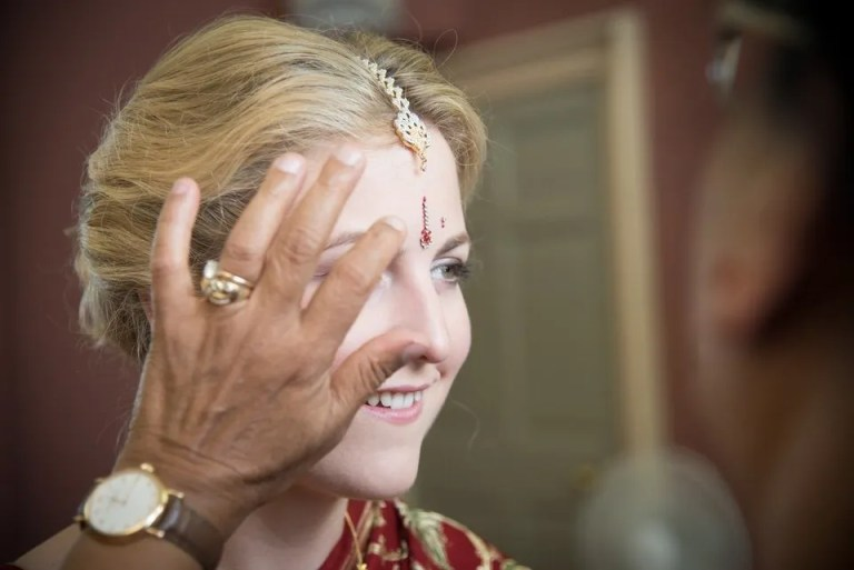 Indian wedding at Dillington House in Somerset