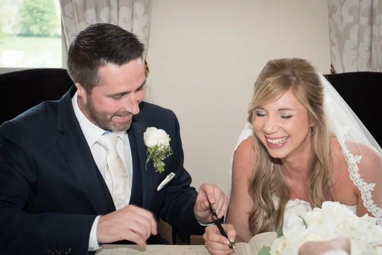 Eastwood Park wedding register