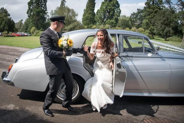 Eastwood Park Wedding bridal car
