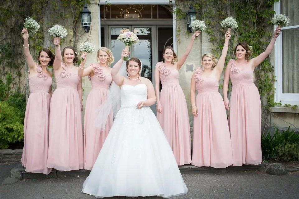 Bridal party at the Grange Mecure Hotel in Bristol