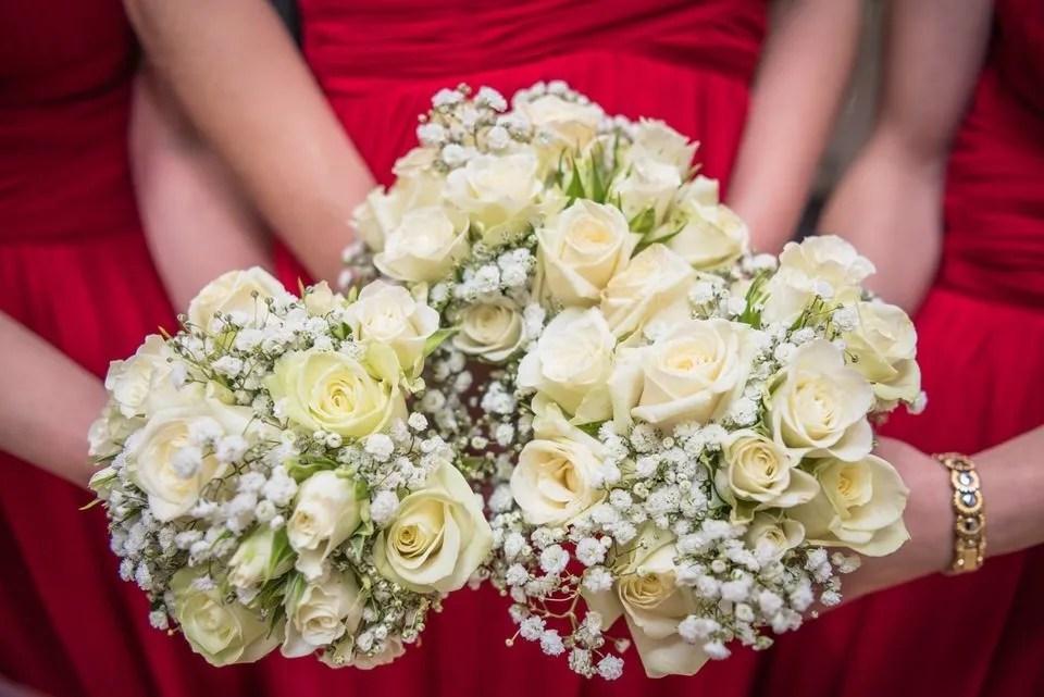 Wedding flowers at Old Down Manor Wedding in Bristol