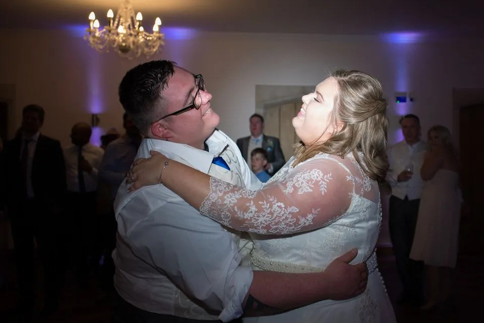 Wedding dance at Orchardleigh Estate in Somerset