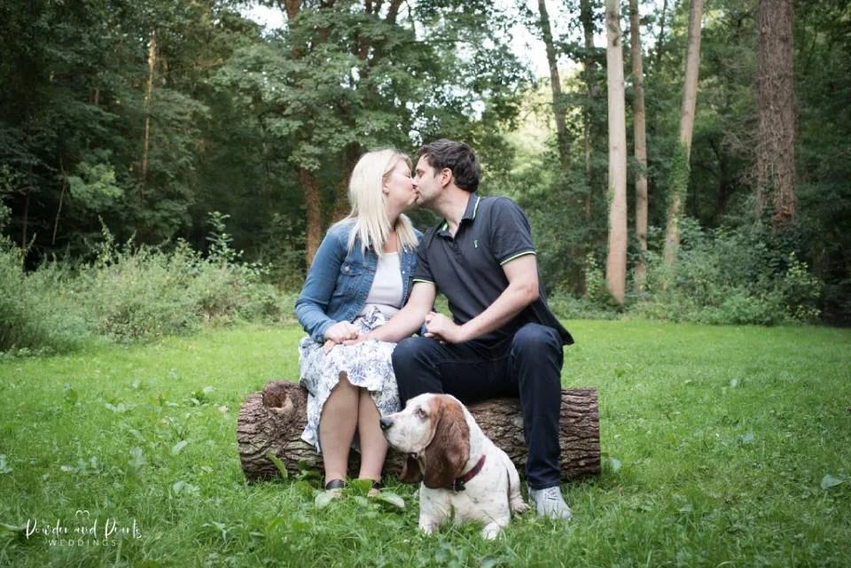 Choosing a wedding photographer by having an engagement shoot