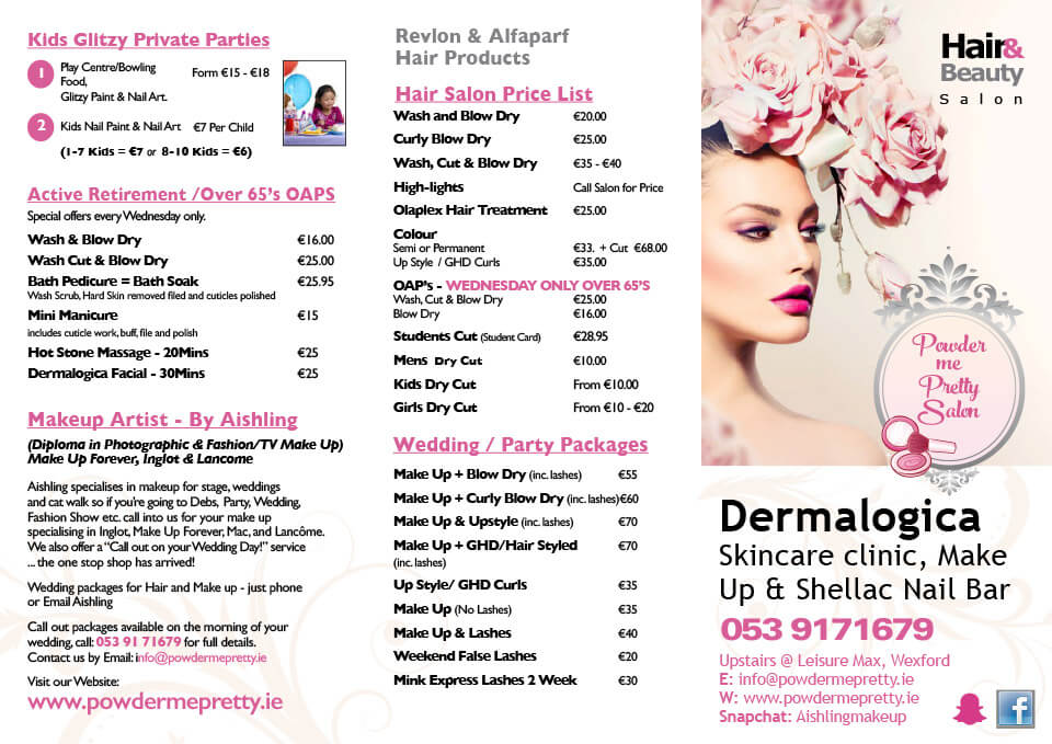 view or download our price list