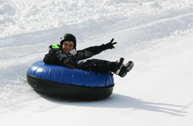 Tubing at Powder Ridge