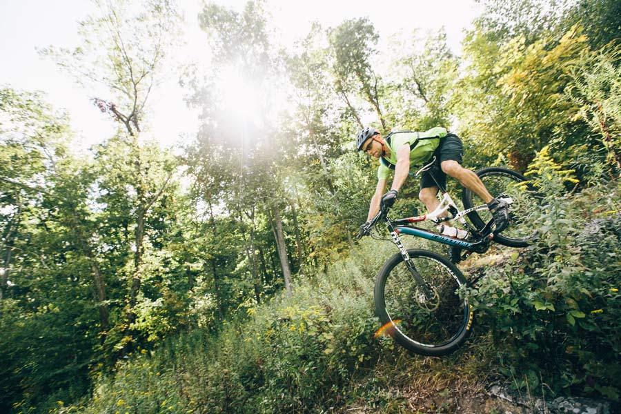 Mountain Biking Powder Ridge Mountain Park Resort