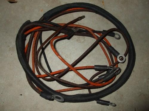 small resolution of studebaker us6 generator to regulator wiring harness