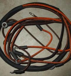 studebaker us6 generator to regulator wiring harness [ 3488 x 2616 Pixel ]
