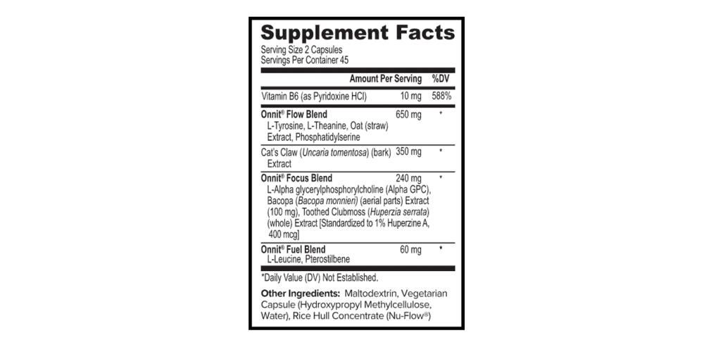 Onnit Alpha Brain Supplement dosage