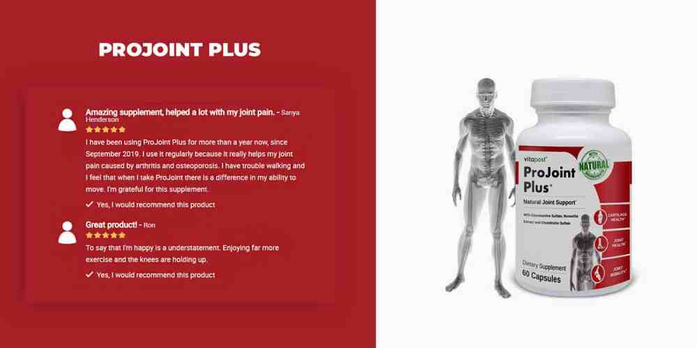 Projoint Plus customer reviews