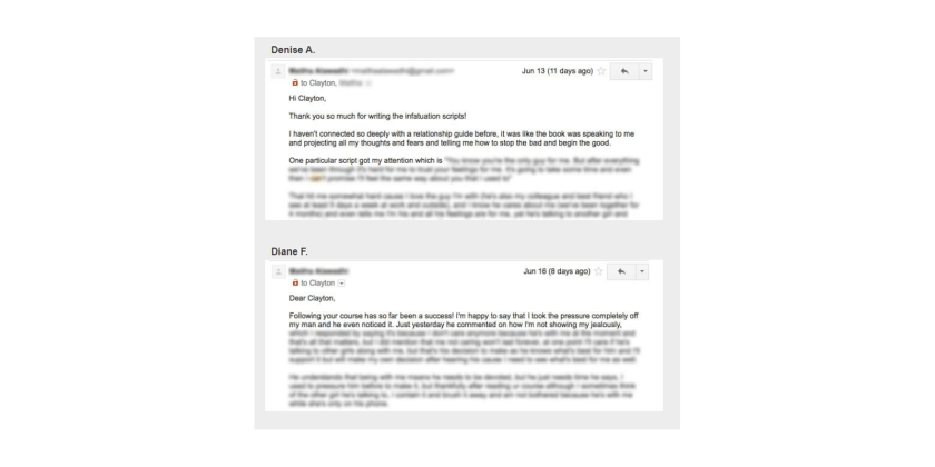 Infatuation Scripts customer Reviews