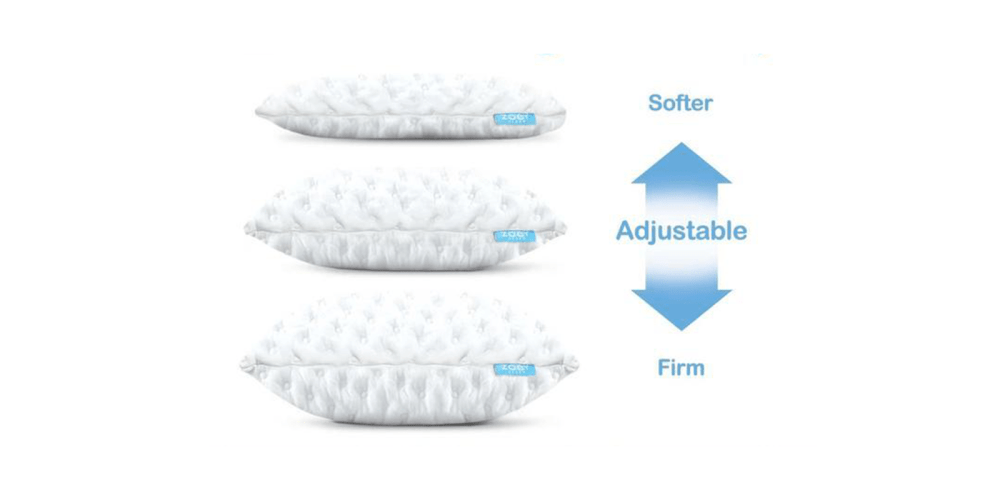 Zoey Curve Pillow features