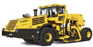 BOMAG MPH 600 Asphalt Recycler  Soil Stabilizer  Power