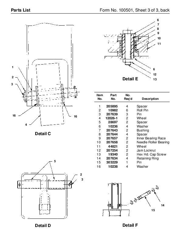 SPX OTC 1813 ACTP 10615 1814 JT01709 OEM1405 Floor Crane