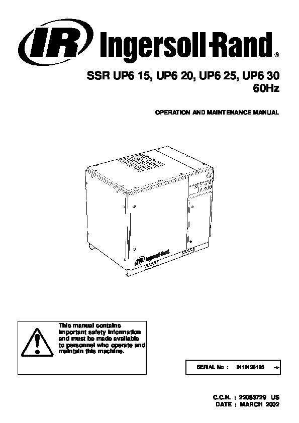 Wiring Diagram Ingersoll Rand Air Compressor: Speedaire b