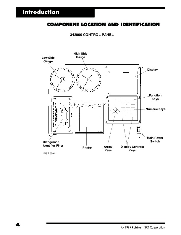 Robinair SPX 342000 Refrigerant Service Solution Owners Manual